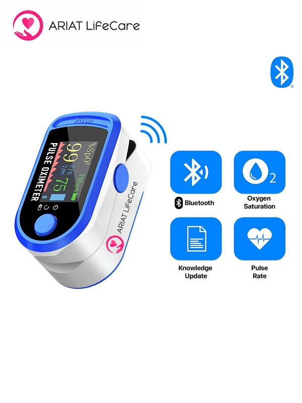 Bluetooth Pulse Oximeter, Bluetooth connectivity Oximeter