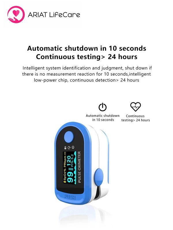 Bluetooth connectivity Oximeter