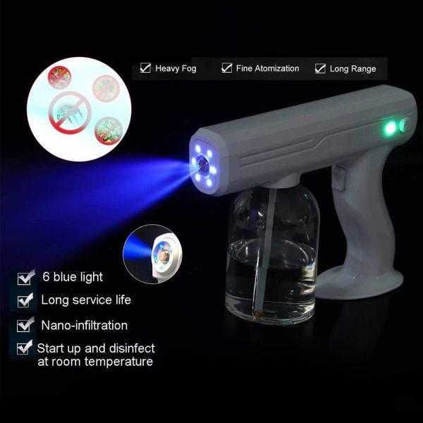 Sanitizer Spray Gun, Wireless Nano Spray Gun